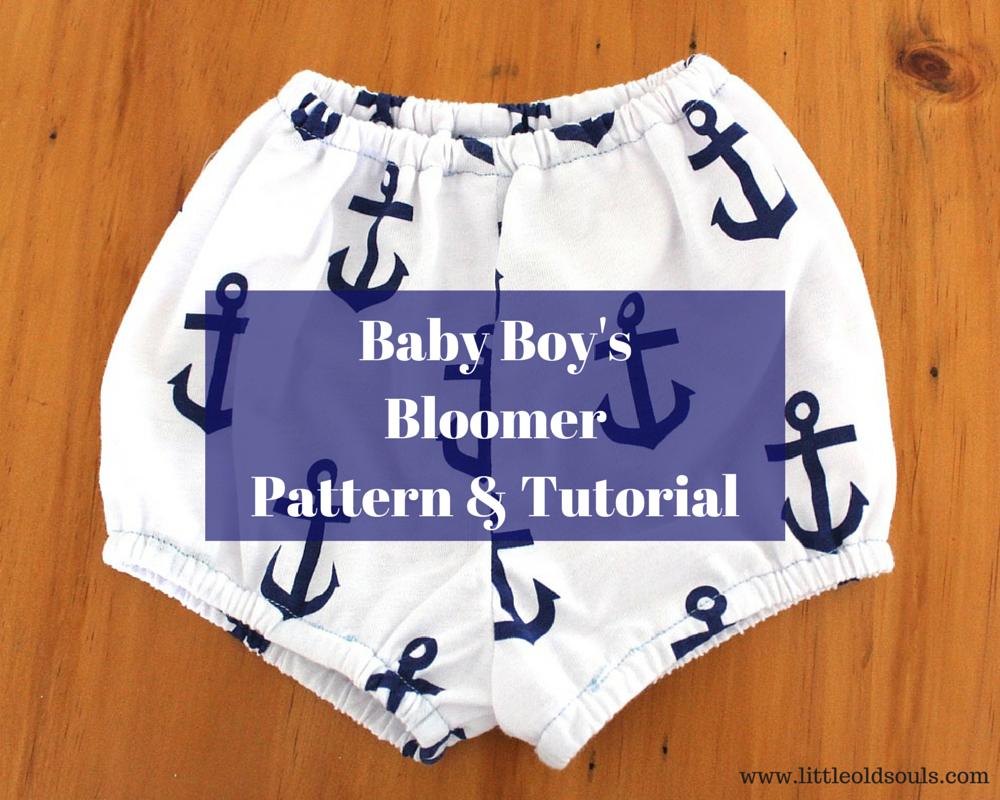 Baby Boy's BloomersPattern & Tutorial-2