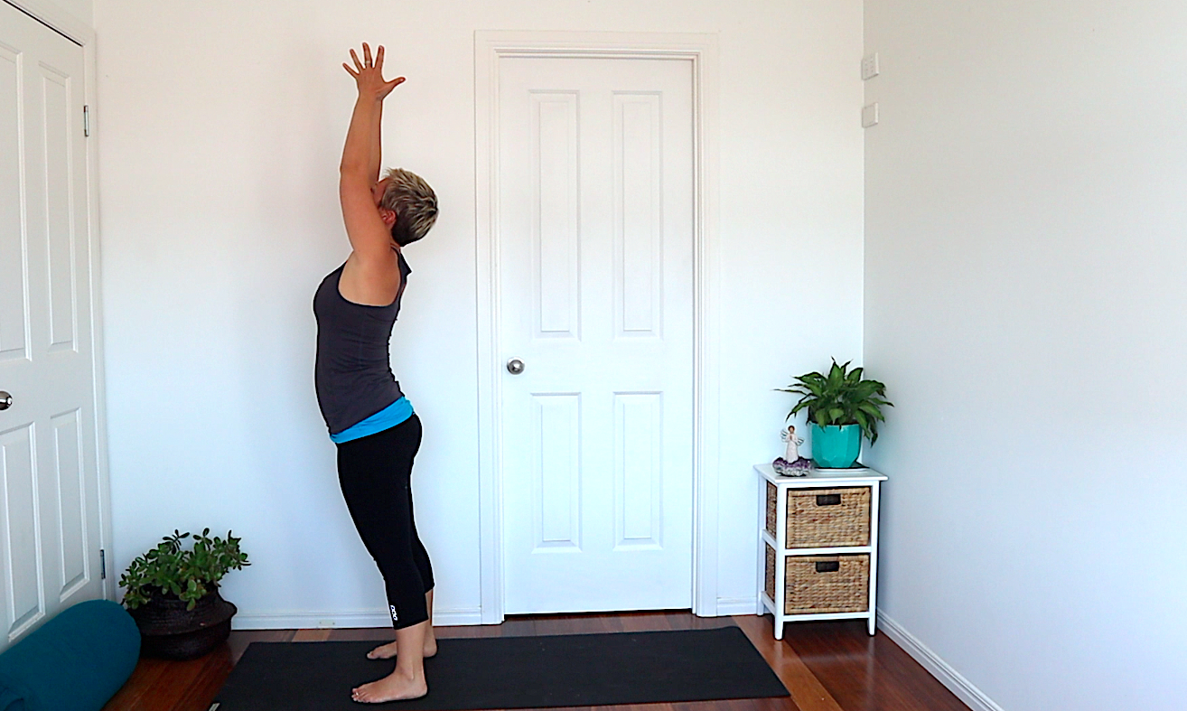 yoga poses for the two week wait