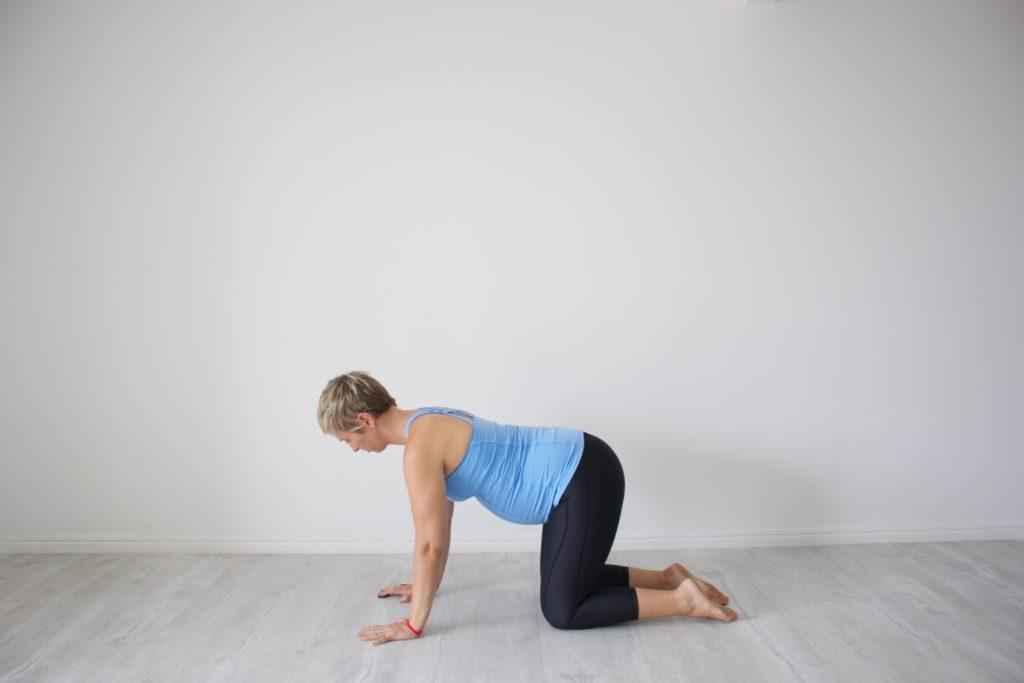third trimester back pain