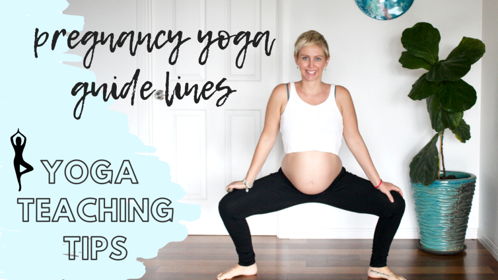 What you need to know to teach pregnancy yoga