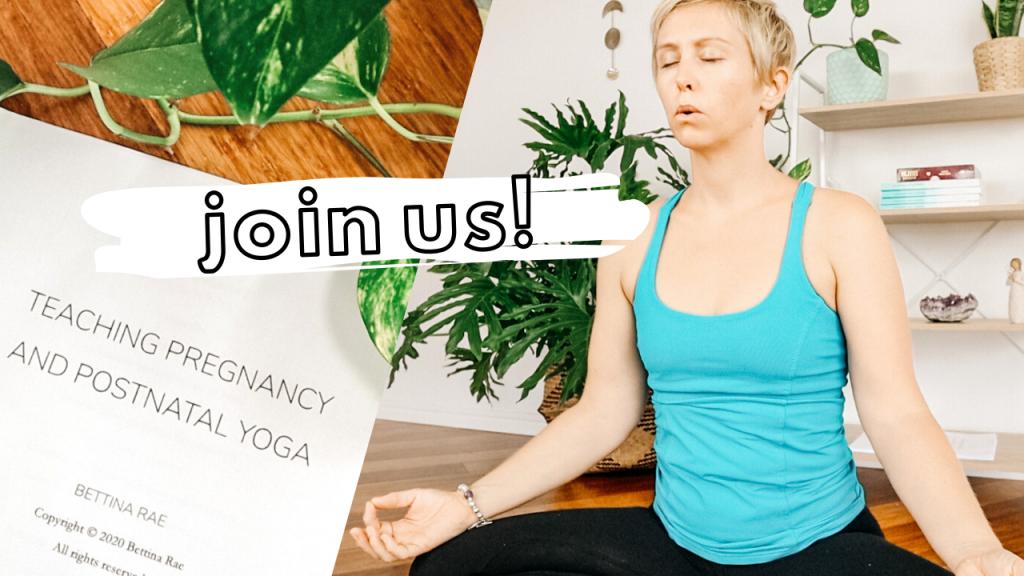 Is pregnancy yoga teacher training right for me?